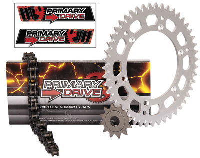 Primary Drive Alloy Kit /& X-Ring Chain for Honda TRX 400X 2012-2014