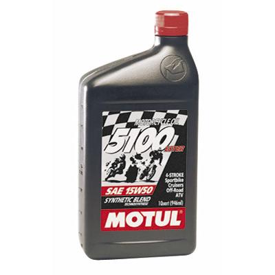 Motul 5100 Synthetic Blend 4-Stroke Motor Oil 1 Liter