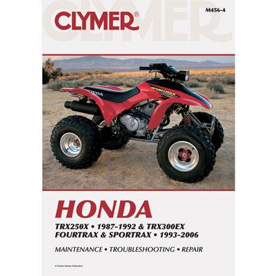 clymer repair manual honda trx 300 immortal atv rh immortalatv com 1994 honda trx 300 repair manual 1997 honda trx 300 repair manual