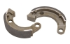 Tusk Brake Shoe - Carbon Honda TRX 90