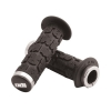 Odi ATV Lock-On Grips - Rogue Black/Silver