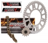 Primary Drive Alloy Kit & Gold X-Ring Chain Suzuki RMZ250 2004-2011