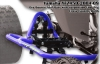 Houser Racing Pro Bounce Nerf Bars with Suspension Footpeg Yamaha YFZ 450