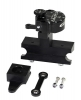GPR ATV Low Mount Stabilizer Kit Black Yamaha Raptor 700